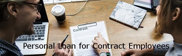personal loan for contract employees